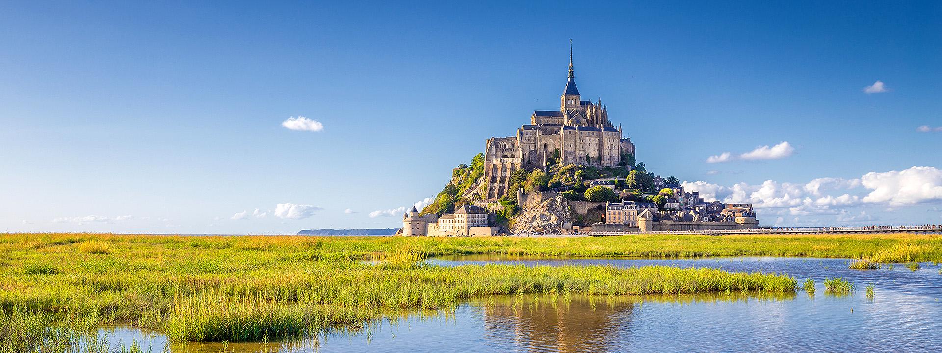 Le Mont Saint-Michel, Frankreich